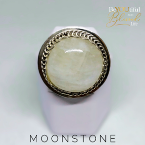Moonstone and Sterling Silver Ring